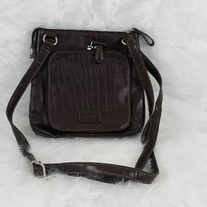 Relic Brown Handbag wi. Adjustable Strap